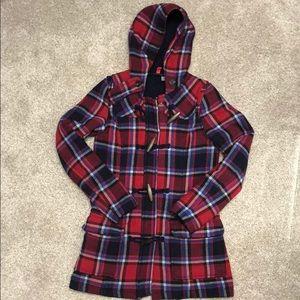 Cute Plaid Wool Blend Coat from H&M